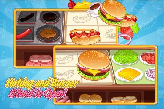 Burger Hotdog Stand screenshot 1
