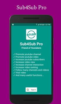 Sub4Sub Pro poster
