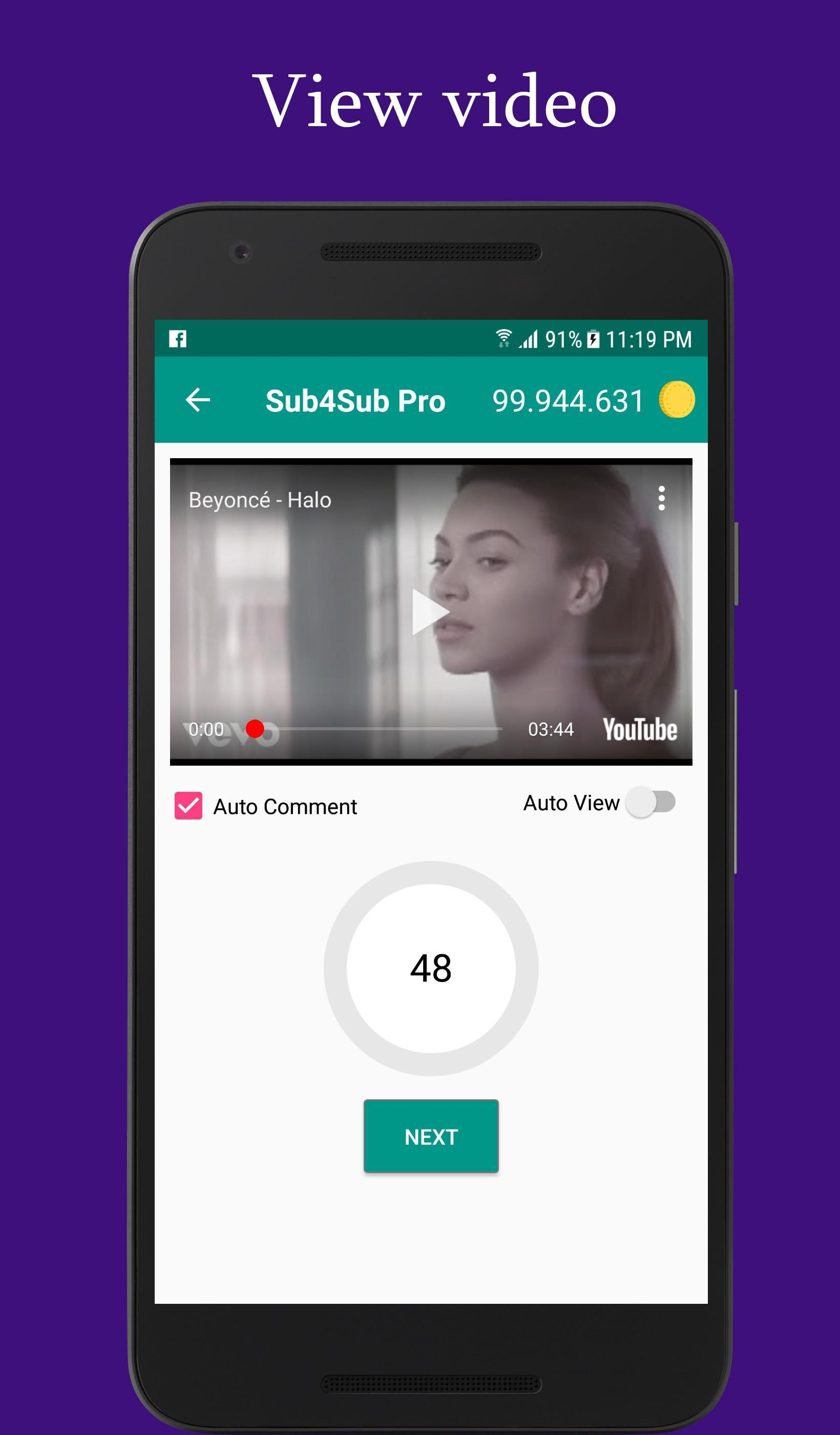 Sub4Sub Pro for Android - APK Download