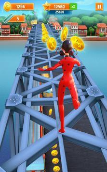 Subway Miraculous Ladybug Jungle Run 2 screenshot 4