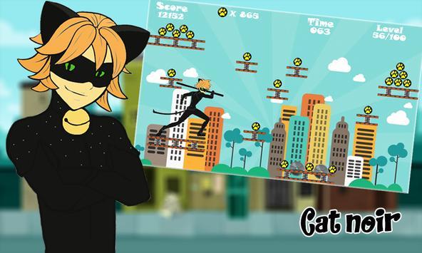 Subway Miraculous Games 🐱 screenshot 4