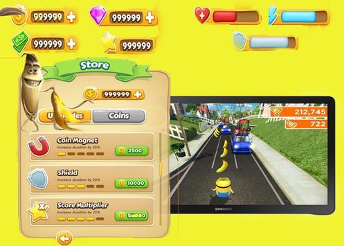 mini bananas rush poster
