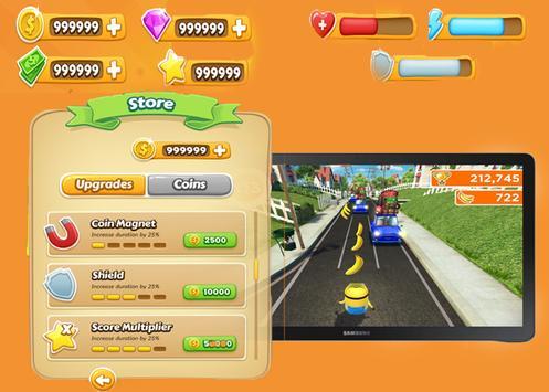 mini bananas rush apk screenshot