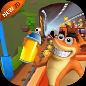 Subway Crash Crazy Bandicoot icon