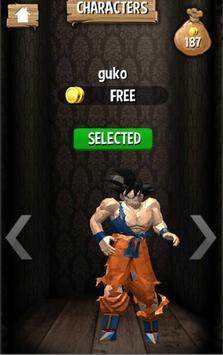Subway Goku jungle super saiyan run screenshot 4
