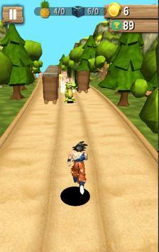 Subway Goku jungle super saiyan run screenshot 1
