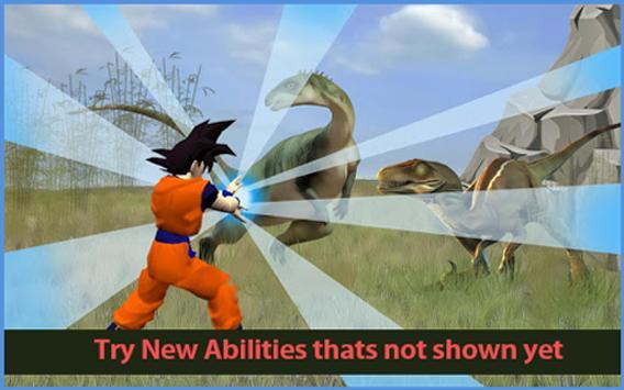 Subway Hero Goku Jungle Survivor rush screenshot 4