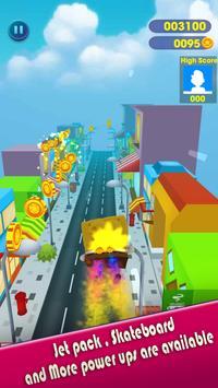 Super spongebob bikini squarepants rush subway 3D screenshot 1