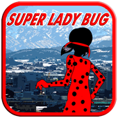 Super Lady Bug Runner icon