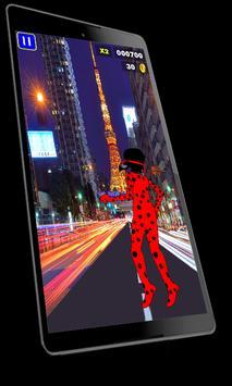 Super Lady Bug Runner apk screenshot