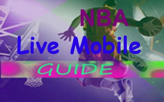 guide for nba live mobile poster