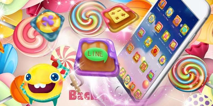 Candy Lolipop Theme screenshot 3