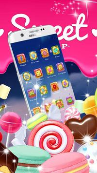 Candy Lolipop Theme screenshot 7