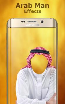 Arab Man Photo Editor poster