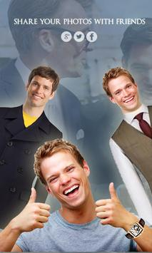 Man Suit - CV Photo Montage apk screenshot