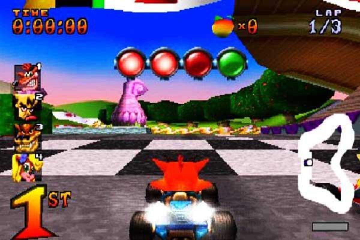 Crash team racing android app