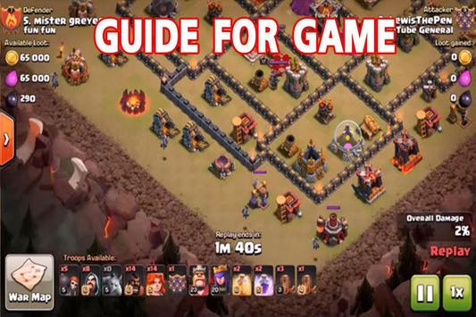 Guide The Clash Of Clans Game CoC apk screenshot