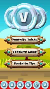V-Bucks Guide for Fortnite poster