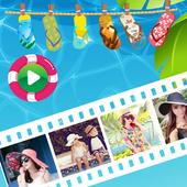 Summer Video Maker icon