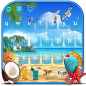 Summer Beach Keyboard Theme icon