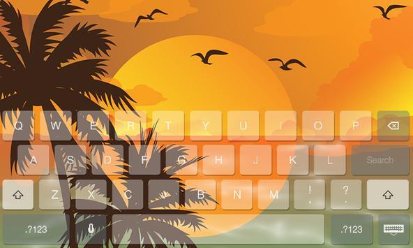 Summer Fresh Theme Keyboard screenshot 5
