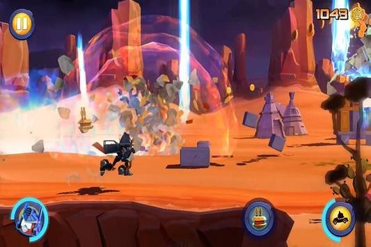 Guide Angry Bird Transformers screenshot 3