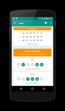 Irish Lotto Scanner poster