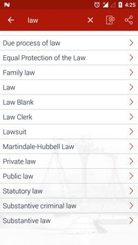 Law Terms apk screenshot