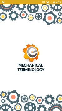 Mechanical Terms plakat