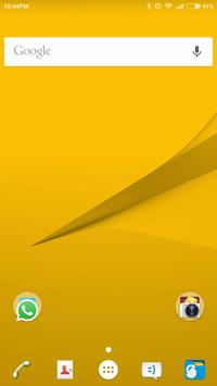 Z5 Launcher and Theme poster