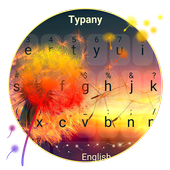 Typany Sunset Flower Keyboard icon