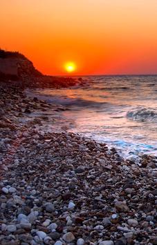 Ocean Sunset Live Wallpaper HD screenshot 1