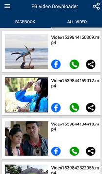 Video Downloader for Facebook : FB Video Download screenshot 1