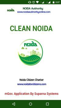 Clean Noida poster