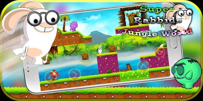 Super rabbids 🥕 Jungle World screenshot 4
