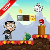 Super mister bin run kids game icon