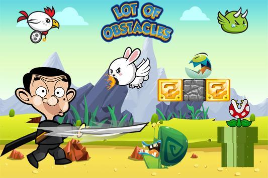 Super mister bin run kids game apk screenshot