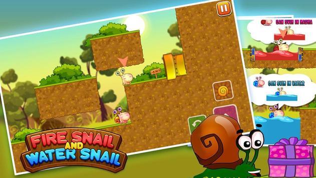 Fire Snail and Water Snail screenshot 3