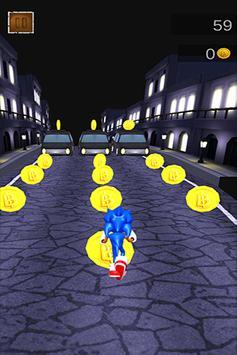 High Sonic Run Dush poster