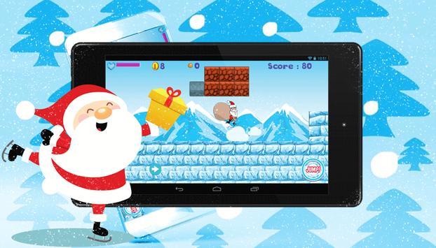 Christmas Santa Run screenshot 2