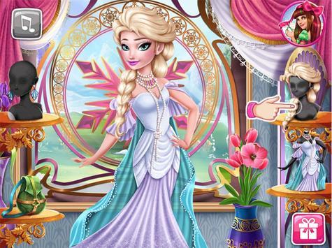 princess salon hair makeup subway run girls games screenshot 1