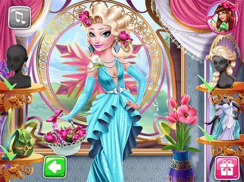 princess salon hair makeup subway run girls games screenshot 2