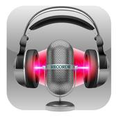 red Voice Recorder icon