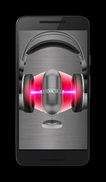 red Voice Recorder poster