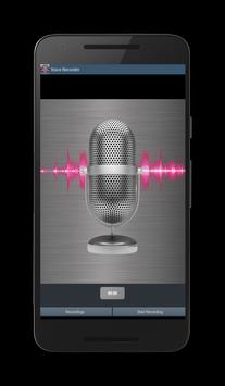 red Voice Recorder screenshot 1