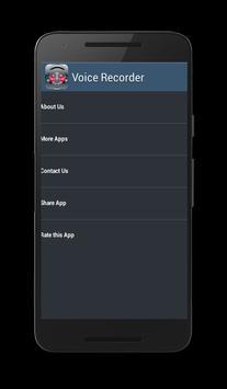 red Voice Recorder screenshot 2