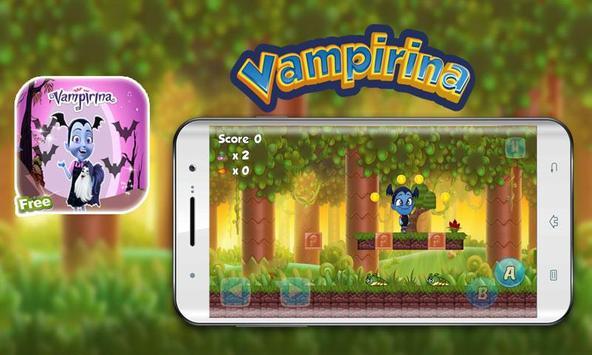 super vampire 👻 adventure game poster