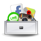 APP抽屜(免費陽春版) - 應用捷徑、桌面抽屜 icon