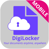 DigiLocker supports BHIM app. icon