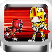 Super Red Rangers Run icon